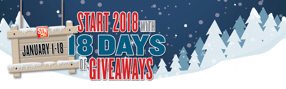 18 Days of Giveaways